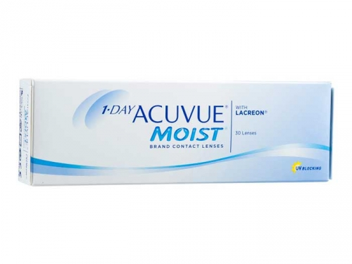 1-DAY ACUVUE MOIST (30 pack)