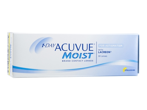 1-DAY ACUVUE MOIST for ASTIGMATISM (30 pack)