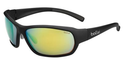 BOLLE BOUNTY style-color 11775 Matte Black / Polarized Brown Emerald oleo AF