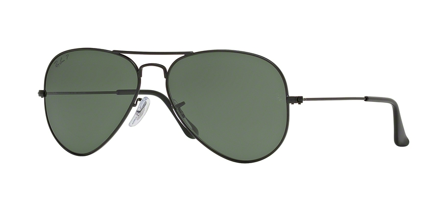 RAY-BAN RB3025 AVIATOR LARGE METAL style-color W3361 Matte Black