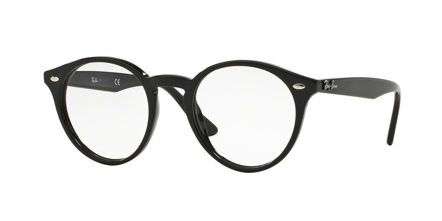 RAY-BAN RX2180V style-color 2000 Shiny Black