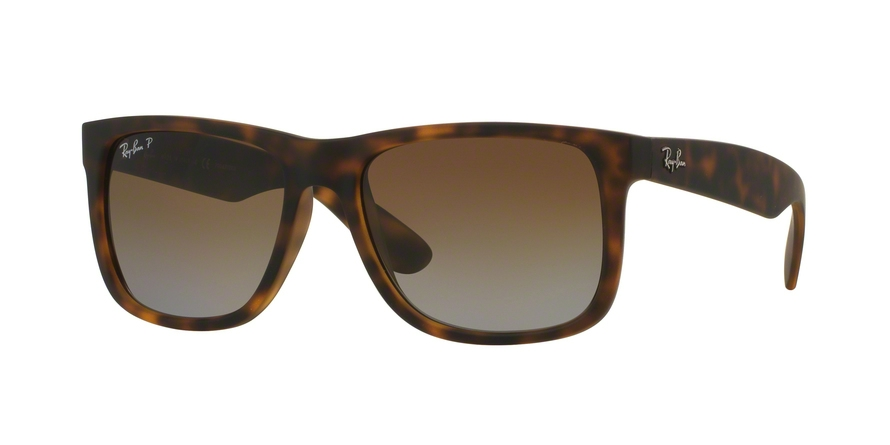 RAY-BAN RB4165 JUSTIN style-color 865/T5 Havana Rubber