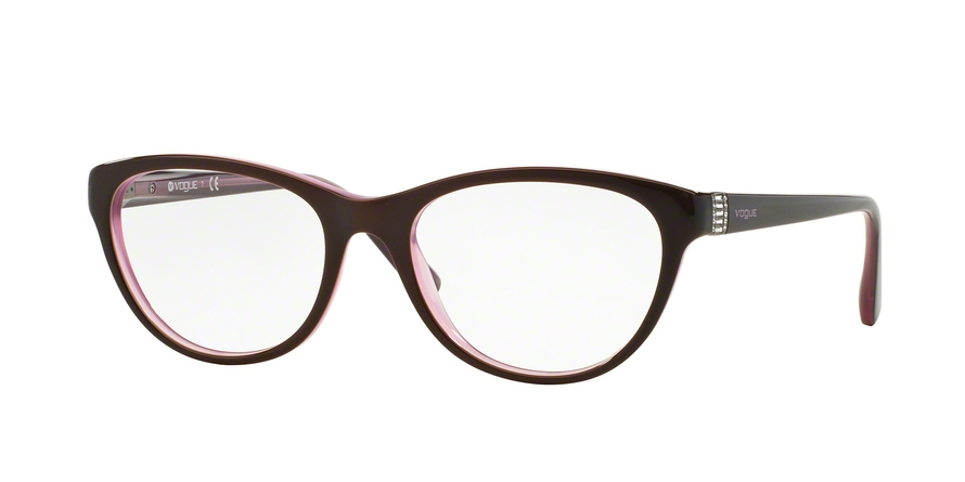 VOGUE VO2938B style-color 1941 Top Brown / Opal White Pink