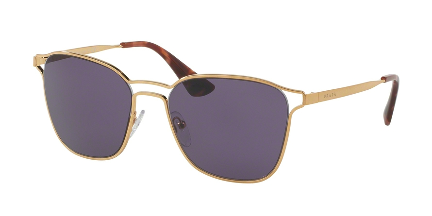 PRADA PR 54TS style-color 7OE6O2 Antique Gold
