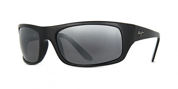 MAUI JIM PEAHI style-color 202-02 Gloss Black/Neutral Grey