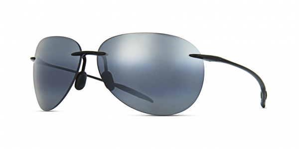 MAUI JIM SUGAR BEACH style-color 421-02 Gloss Black / Neutral Grey