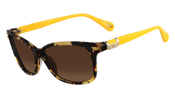 DVF 568S LAYLA style-color (281) Tokyo Tortoise