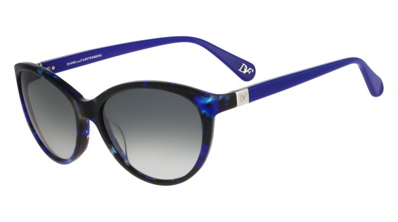 DVF 599S BLAIR style-color (423) Blue Marble