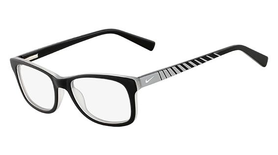 NIKE 5509 style-color (018) Satin Black / Grey