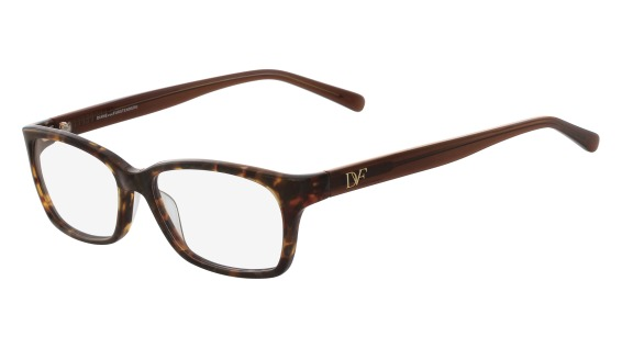 DVF 5088 style-color (210) Brown Tortoise