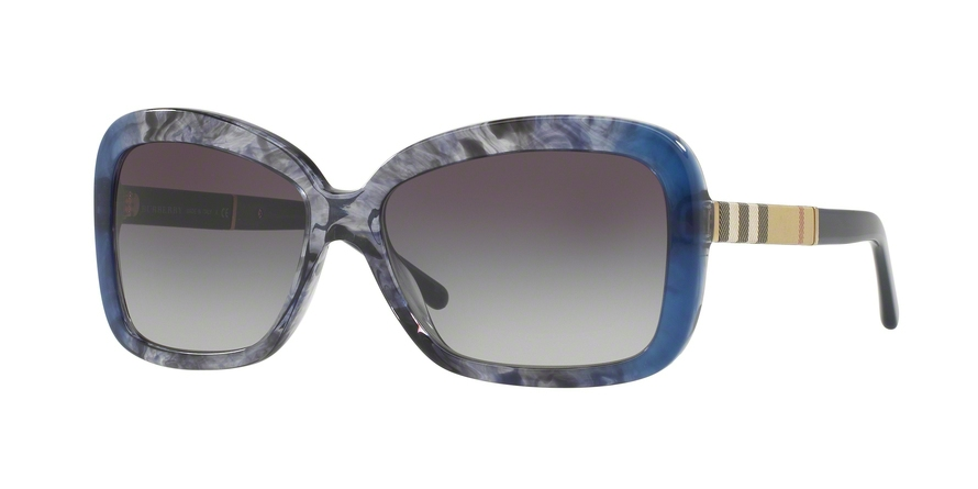 BURBERRY BE4173 style-color 36138G Blue Gradient Striped