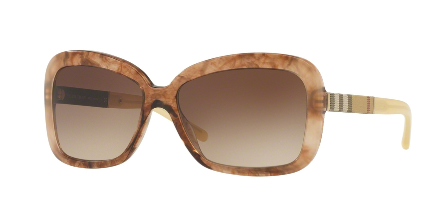 BURBERRY BE4173 style-color 361213 Brown Gradient Striped