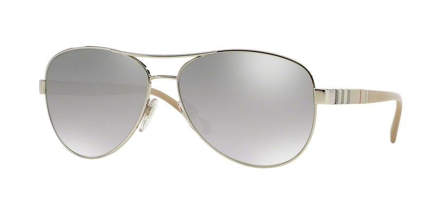 BURBERRY BE3080 style-color 10056V Silver