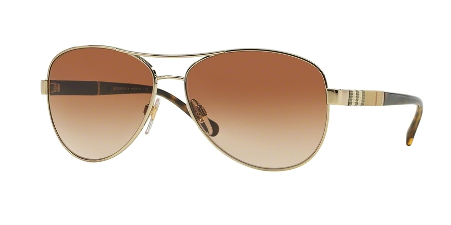 BURBERRY BE3080 style-color 114513 Light Gold