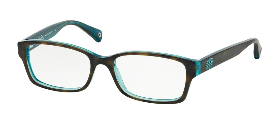 COACH HC6040 BROOKLYN style-color 5116 Dark Tortoise / Teal