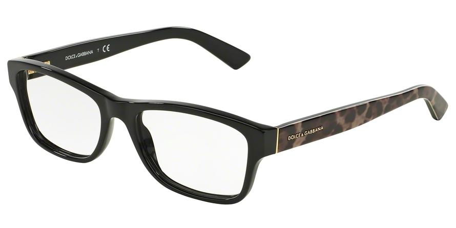 DOLCE & GABBANA DG3208 ENCHANTED BEAUTIES style-color 2525 Black