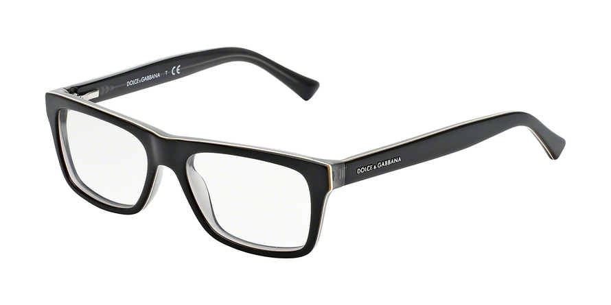DOLCE & GABBANA DG3205 URBAN style-color 1871 Top Black ON Grey