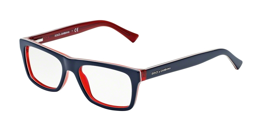 DOLCE & GABBANA DG3205 URBAN style-color 1872 Top Blue ON Red