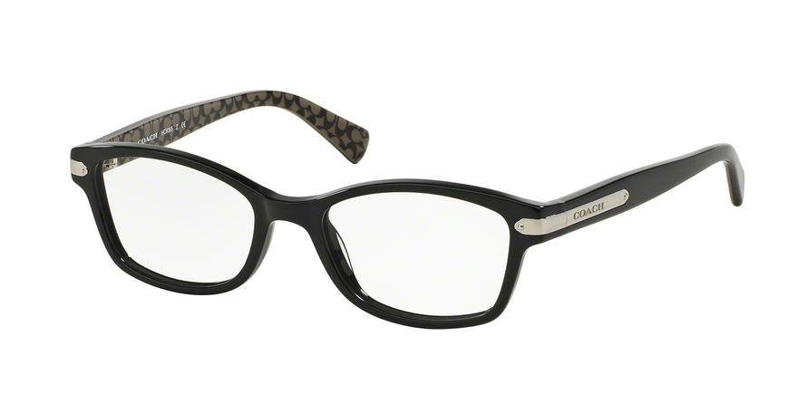 COACH HC6065 style-color 5261 Black / Black Military Sig C