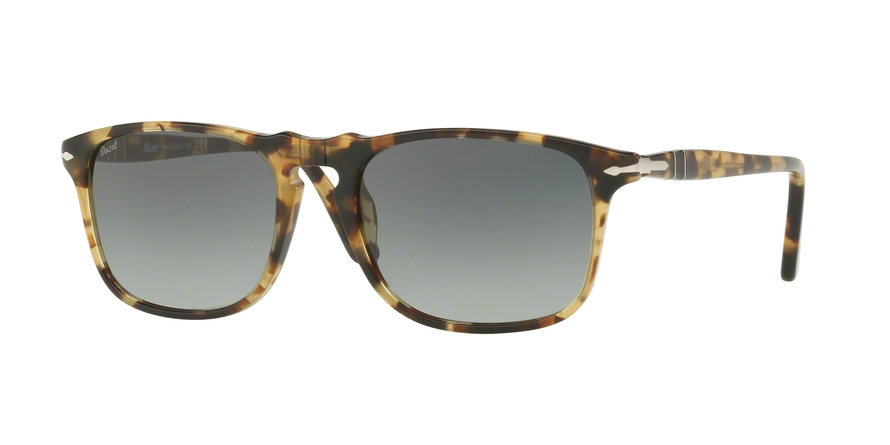 PERSOL PO3059S style-color 105671 Brown / Beige Tortoise