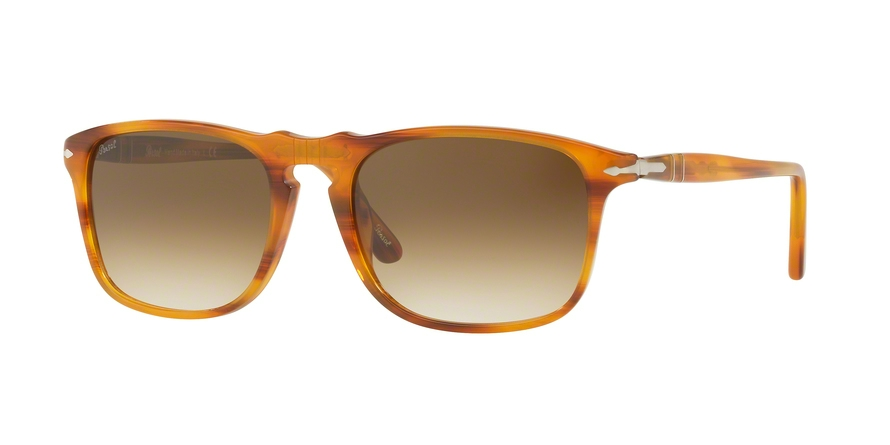 PERSOL PO3059S style-color 960/51 Stripped Brown