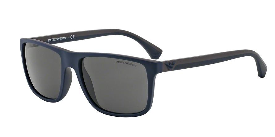 EMPORIO ARMANI EA4033 style-color 523087 Top Blue / Brown Rubber