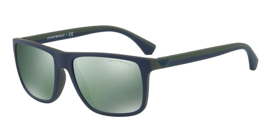 EMPORIO ARMANI EA4033 style-color 56156R Top Blue ON Green Rubber