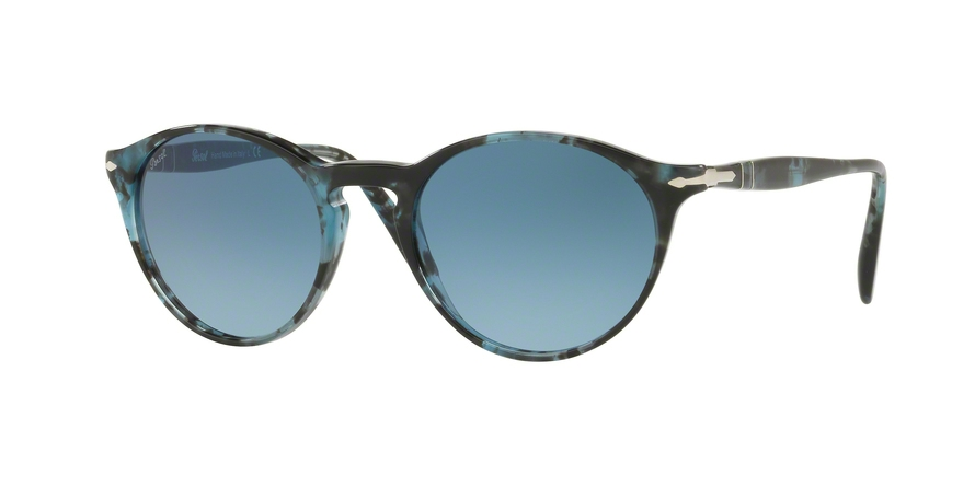 PERSOL PO3092SM style-color 9049Q8 Spotted Blue Dark Grey