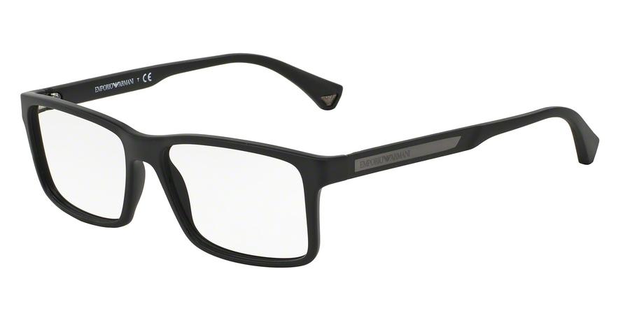 EMPORIO ARMANI EA3038 style-color 5063 Black Rubber