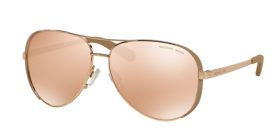 MICHAEL KORS MK5004 CHELSEA style-color 1017R1 Rose Gold / Taupe