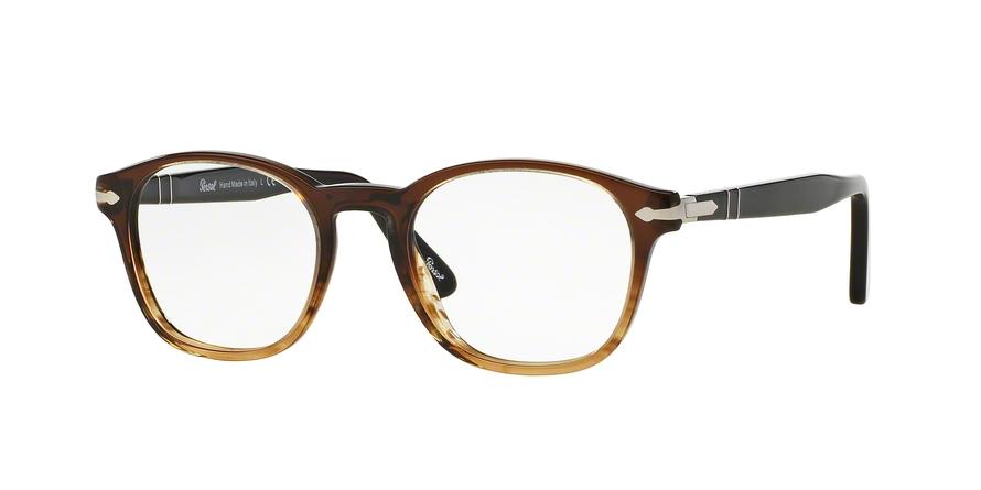 PERSOL PO3122V style-color 1026 Brown / Striped Brown