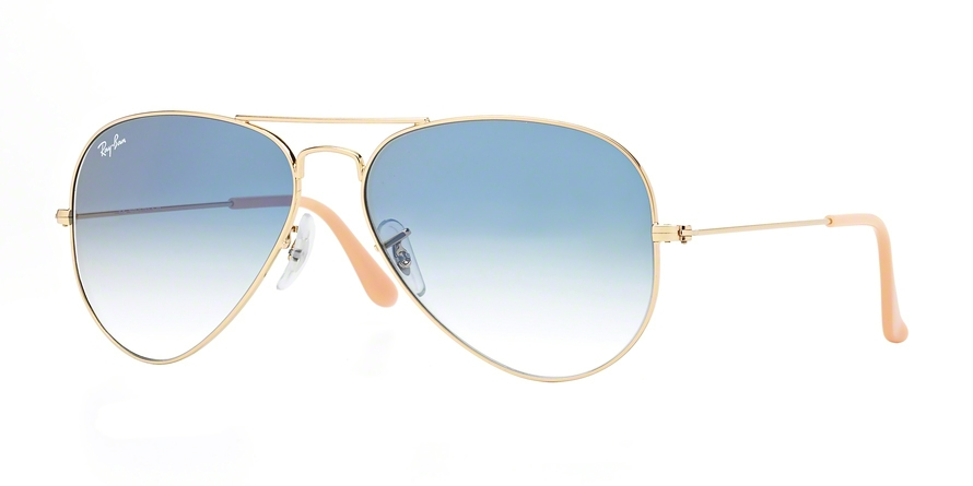 RAY-BAN RB3025 AVIATOR LARGE METAL style-color 001/3F Gold