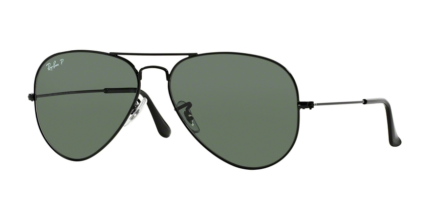 RAY-BAN RB3025 AVIATOR LARGE METAL style-color 002/58 Black