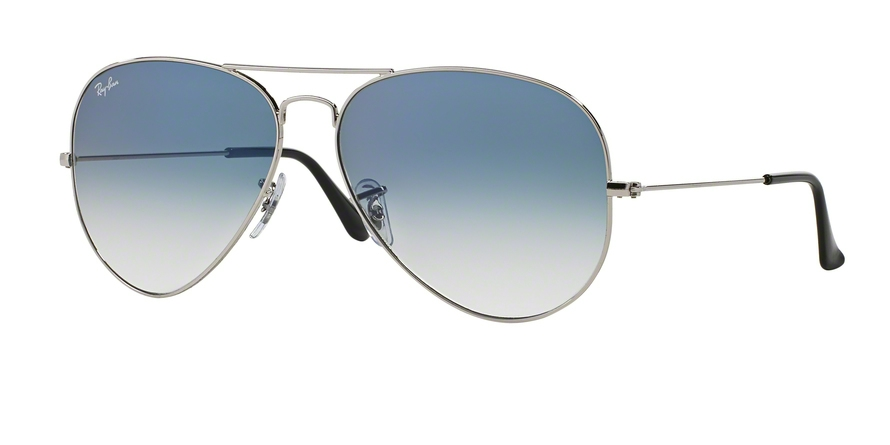 RAY-BAN RB3025 AVIATOR LARGE METAL style-color 003/3F Silver