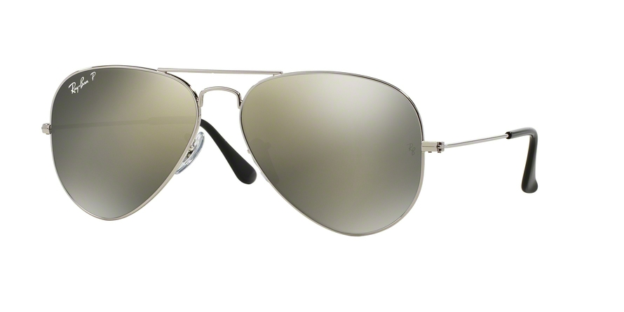 RAY-BAN RB3025 AVIATOR LARGE METAL style-color 003/59 Silver