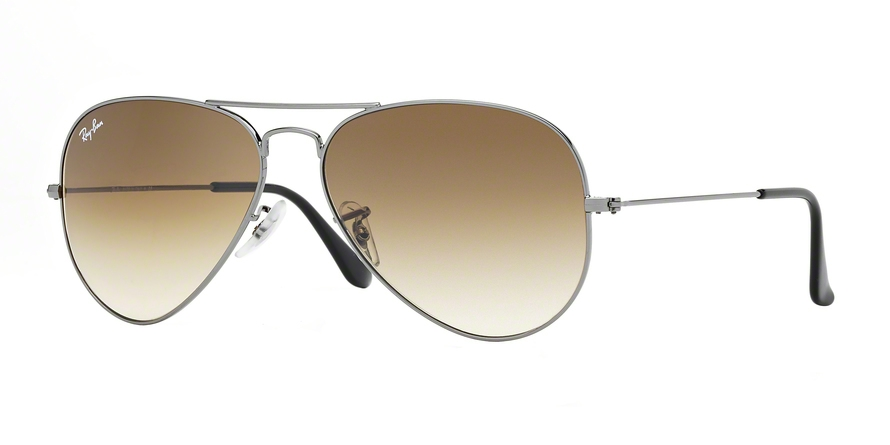 RAY-BAN RB3025 AVIATOR LARGE METAL style-color 004/51 Gunmetal