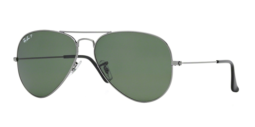 RAY-BAN RB3025 AVIATOR LARGE METAL style-color 004/58 Gunmetal