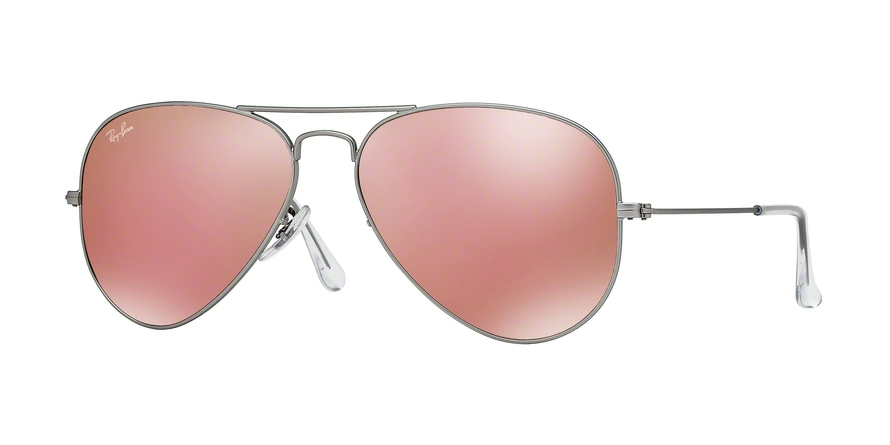 RAY-BAN RB3025 AVIATOR LARGE METAL style-color 019/Z2 Matte Silver