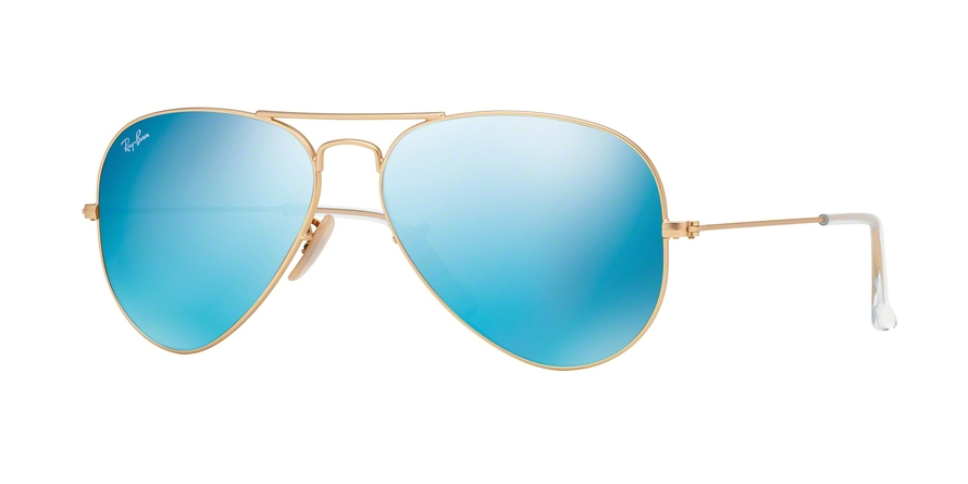 RAY-BAN RB3025 AVIATOR LARGE METAL style-color 112/17 Matte Gold