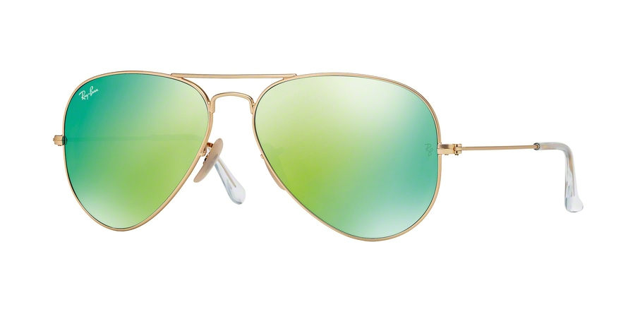 RAY-BAN RB3025 AVIATOR LARGE METAL style-color 112/19 Matte Gold