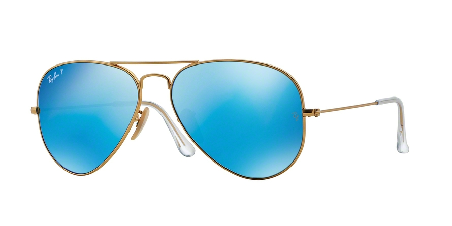 RAY-BAN RB3025 AVIATOR LARGE METAL style-color 112/4L Matte Gold
