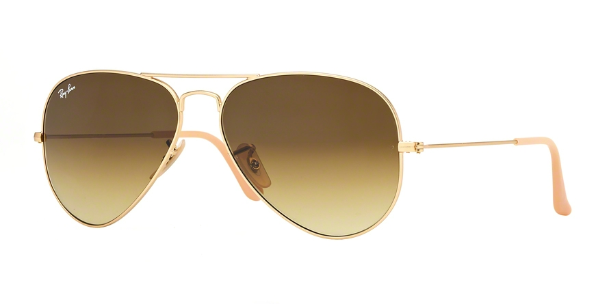 RAY-BAN RB3025 AVIATOR LARGE METAL style-color 112/85 Matte Gold