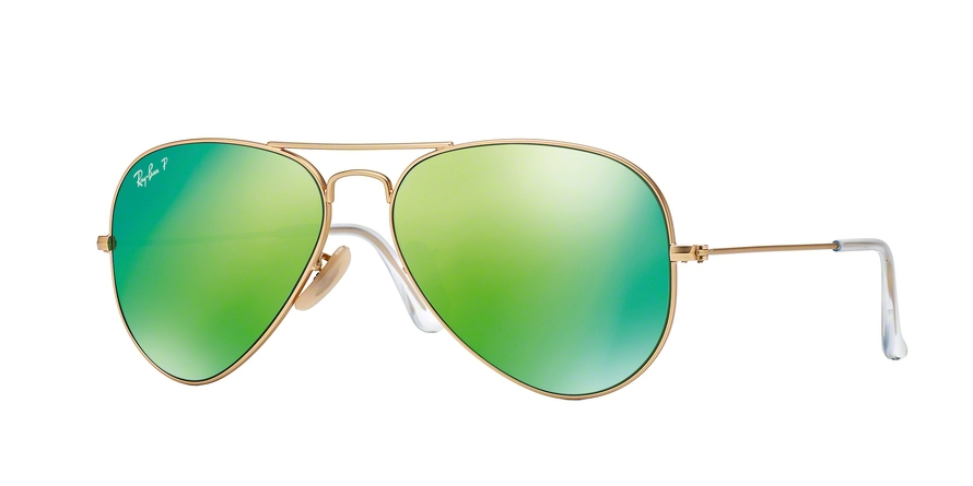 RAY-BAN RB3025 AVIATOR LARGE METAL style-color 112/P9 Matte Gold