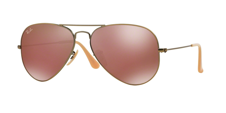 RAY-BAN RB3025 AVIATOR LARGE METAL style-color 167/2K Demiglos Brushed Bronze
