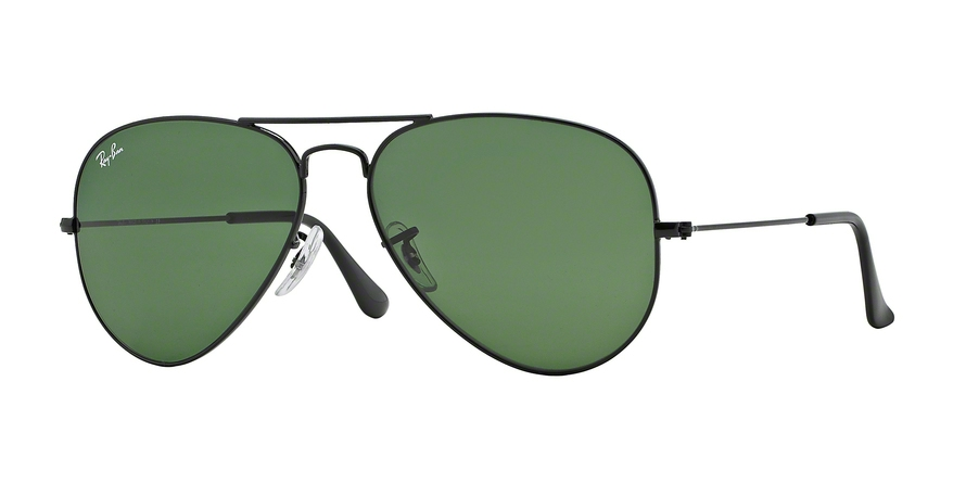 RAY-BAN RB3025 AVIATOR LARGE METAL style-color L2823 Black