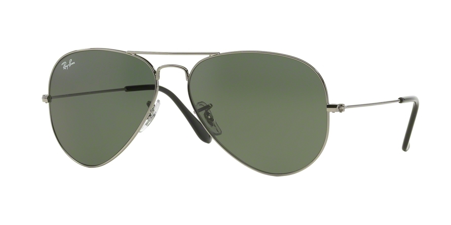 RAY-BAN RB3025 AVIATOR LARGE METAL style-color W0879 Gunmetal