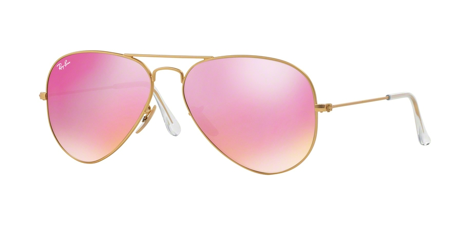 RAY-BAN RB3025 AVIATOR LARGE METAL style-color 112/4T Matte Gold