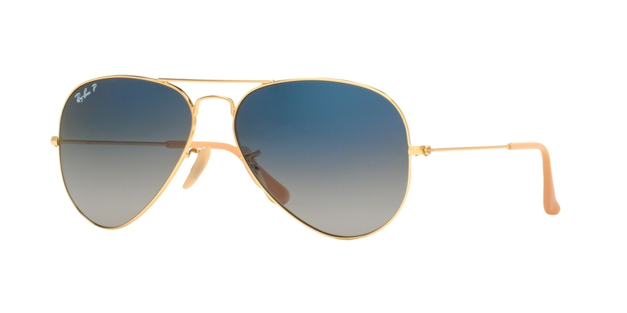 RAY-BAN RB3025 AVIATOR LARGE METAL style-color 001/78 Gold
