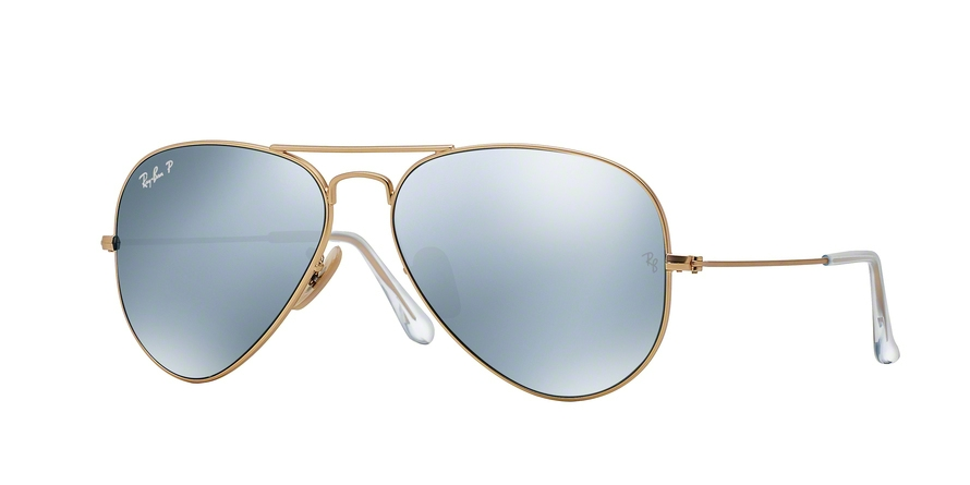 RAY-BAN RB3025 AVIATOR LARGE METAL style-color 112/W3 Matte Gold