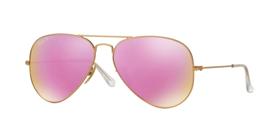 RAY-BAN RB3025 AVIATOR LARGE METAL style-color 112/1Q Matte Gold